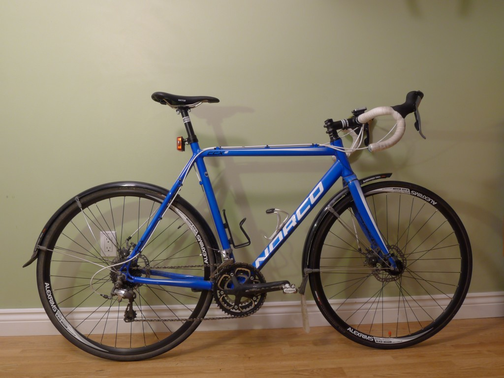 My 2012 Norco CCX 2 commuter bike