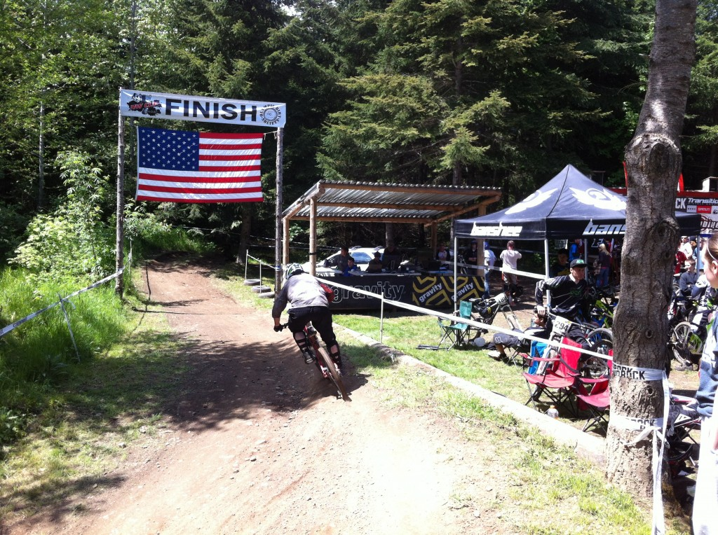 They sure love their stars and stripes at the NW Cup events. Folks couldn't be any nicer, and the racing is excellent.